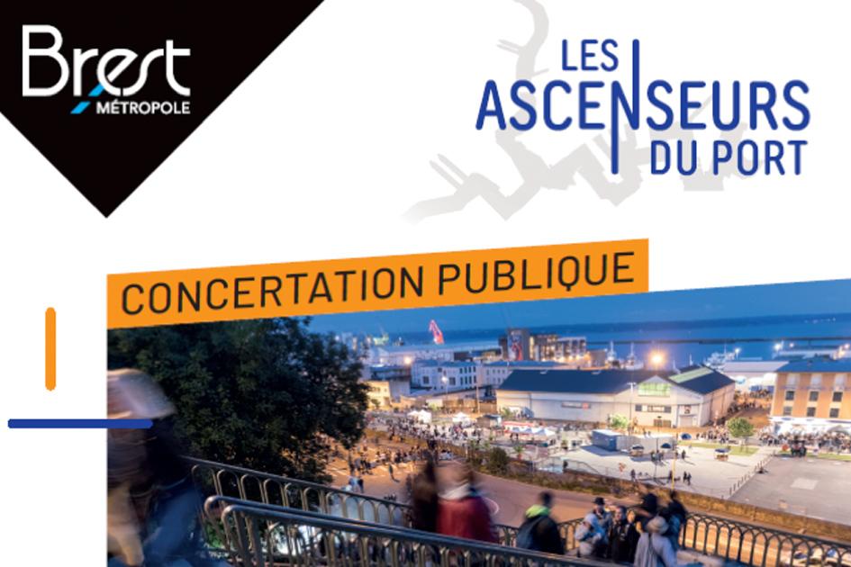 """Concertation publique """"Les Ascenseurs du Port"""""""