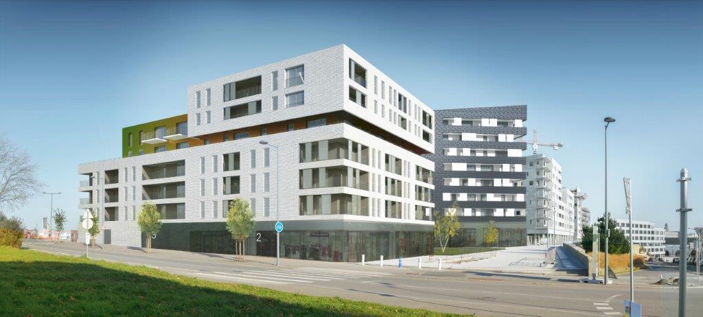 Capucins : pose de la 1ère pierre des logements, bureaux et commerces de l'ilot D