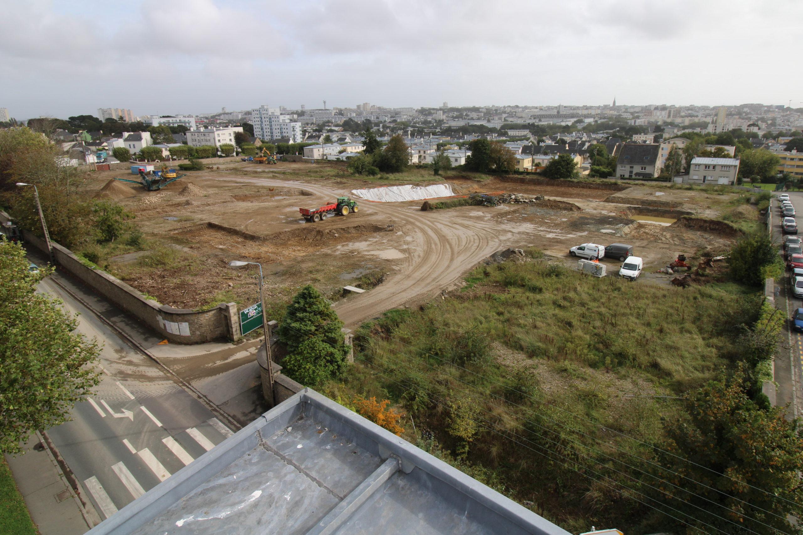 Ménez Bihan : lancement des travaux d'aménagement du quartier