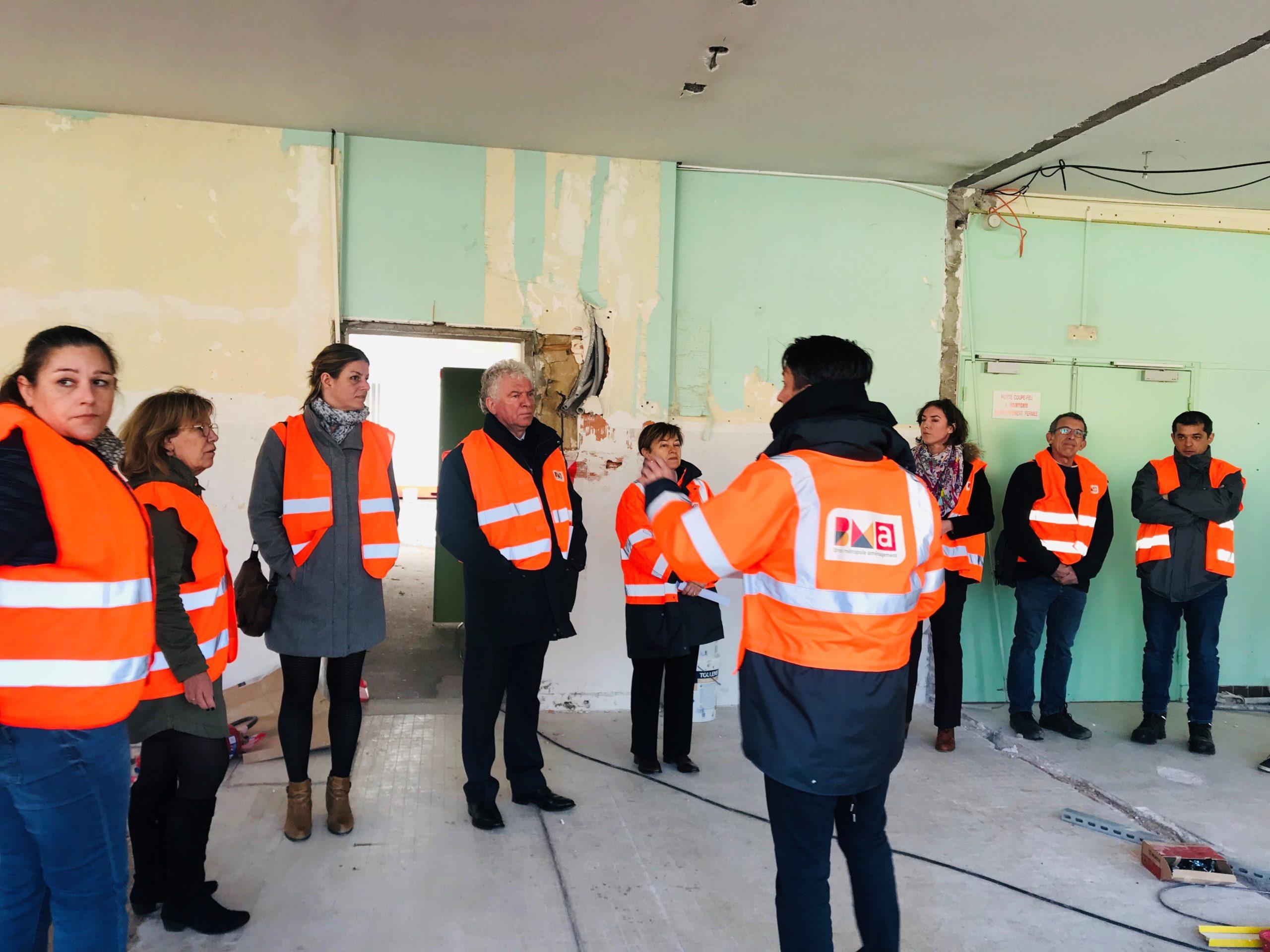 Rénovation en profondeur pour Aubrac : visite de chantier