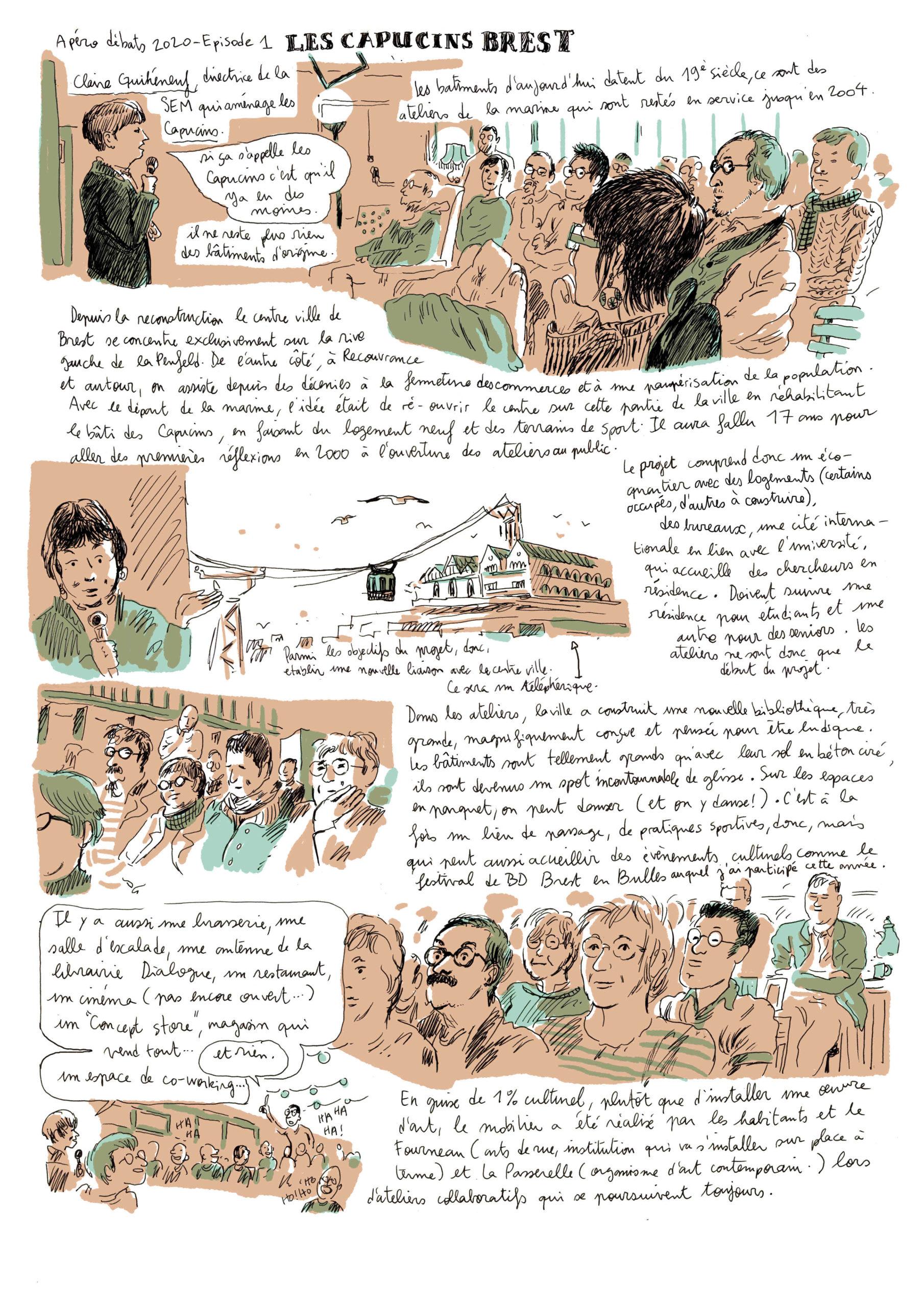 La mutation des espaces : présentation des Capucins par Claire Guihéneuf – Maeb