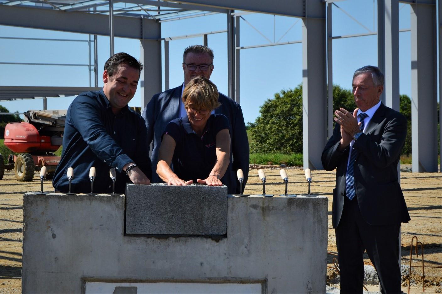 Saint Thudon : Autodistribution Fichou implante son nouvel atelier de poids lourds et utilitaires