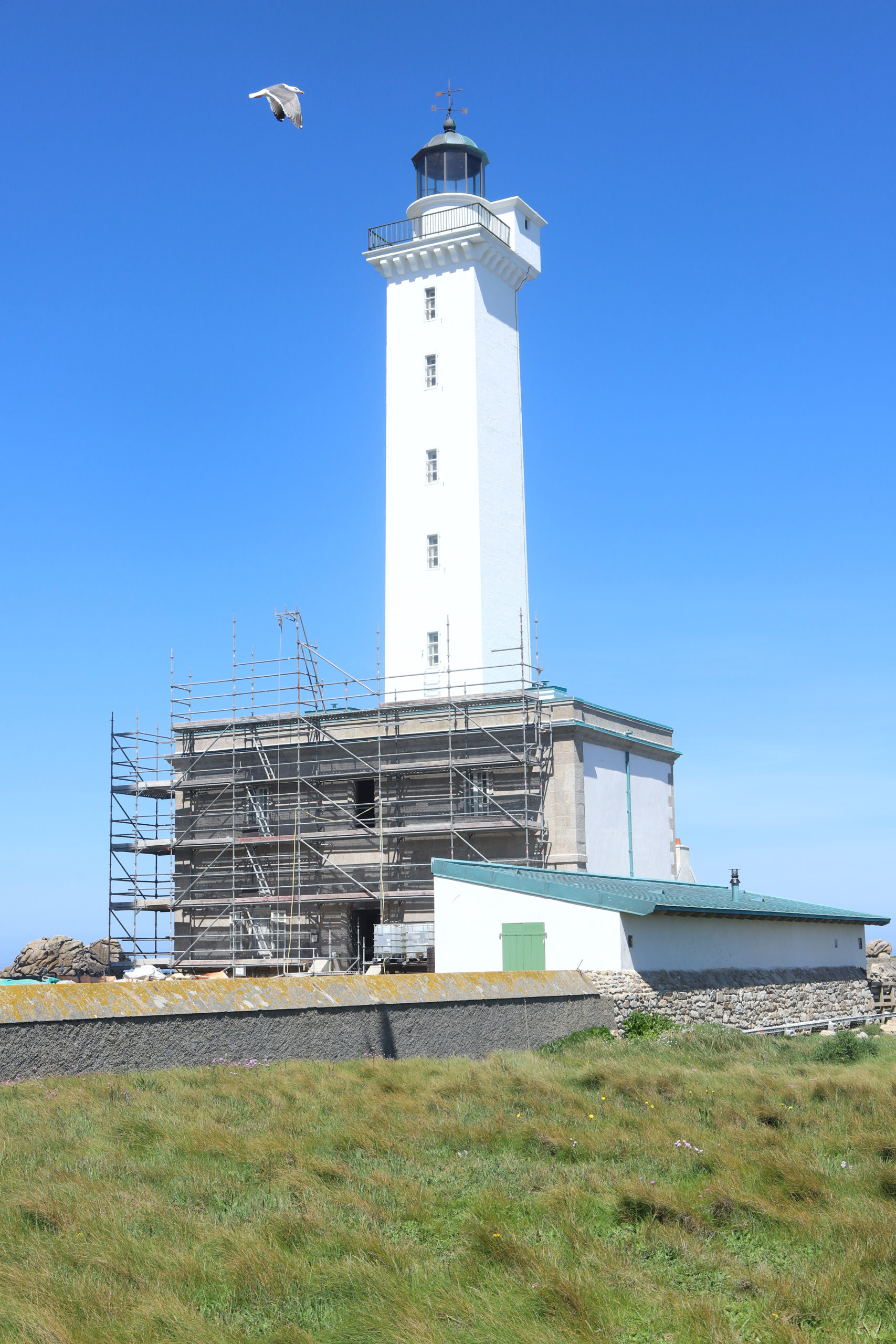Vidéo #1 : les enjeux de la rénovation du vieux phare de l'ile vierge