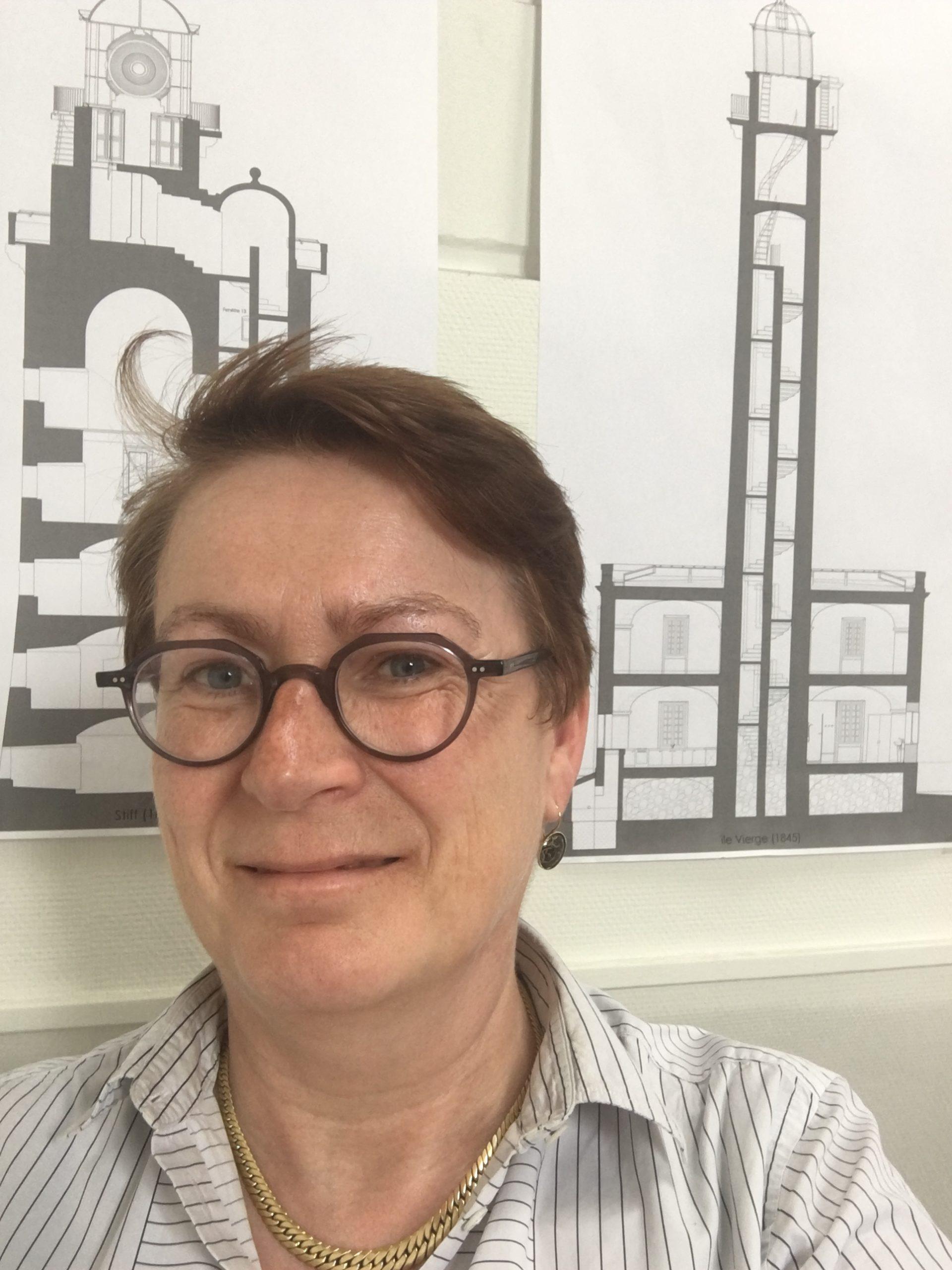 Marie-Suzanne de Ponthaud, architecte en chef des Monuments historiques