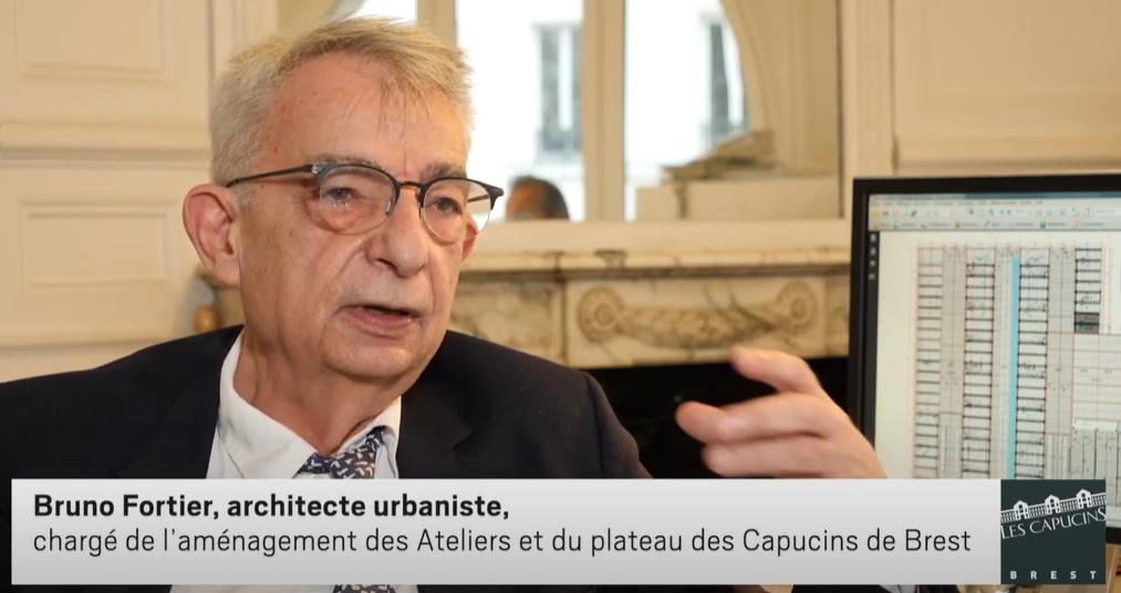 Rencontre avec Bruno Fortier architecte-urbaniste des Capucins de Brest