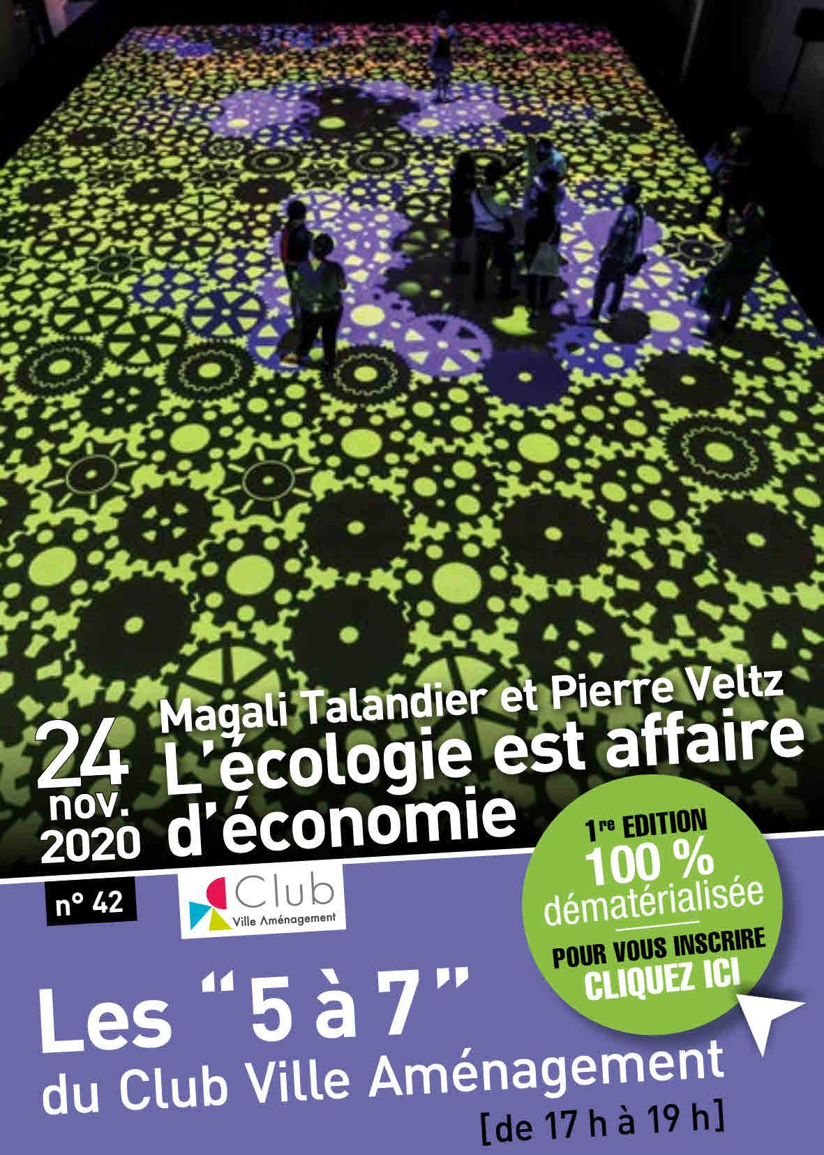 Conférence-débat avec Magali Talandier et Pierre Veltz >> 24 nov – 17h-19h >> visio