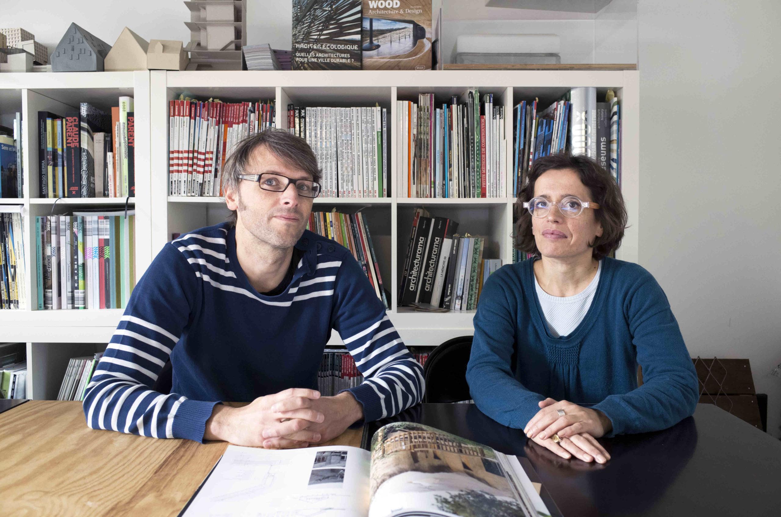 PORTRAIT : Hervé Potin : architecte de l'école de l'Aber Benoît à St Pabu
