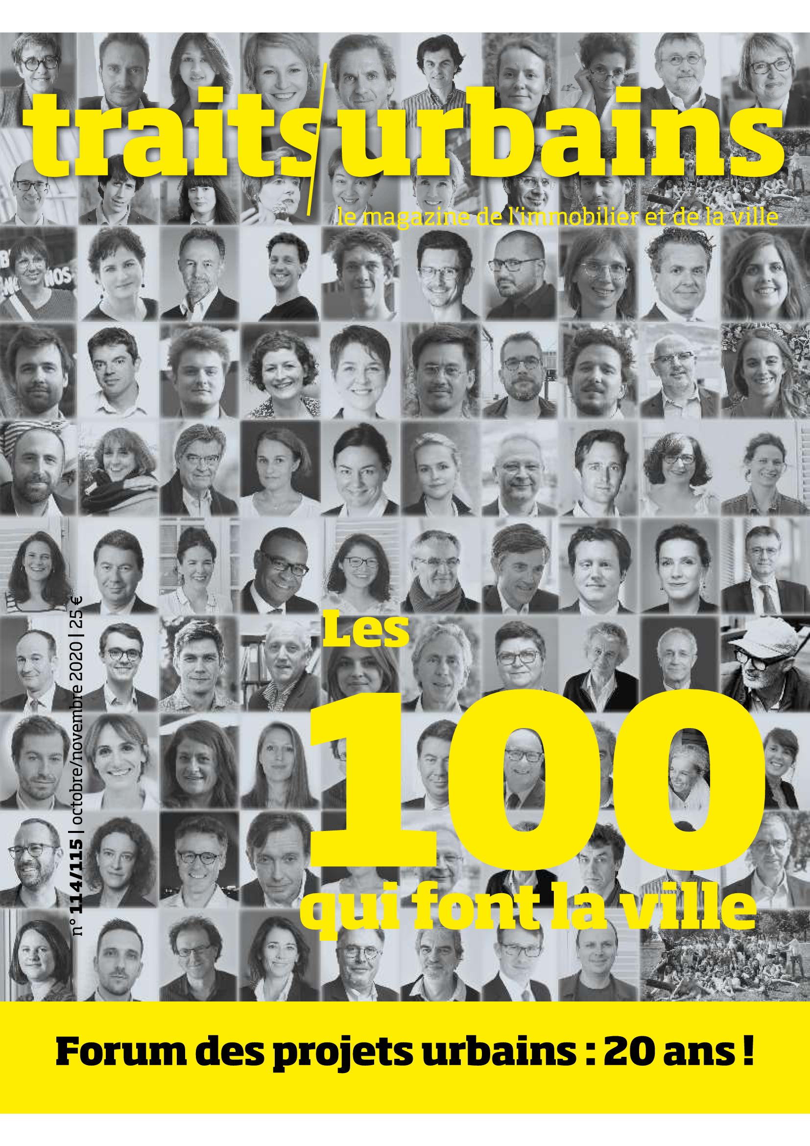 """PORTRAIT : Claire Guihéneuf dans """"Les 100 qui font la ville"""", dernier numéro de Traits urbains"""
