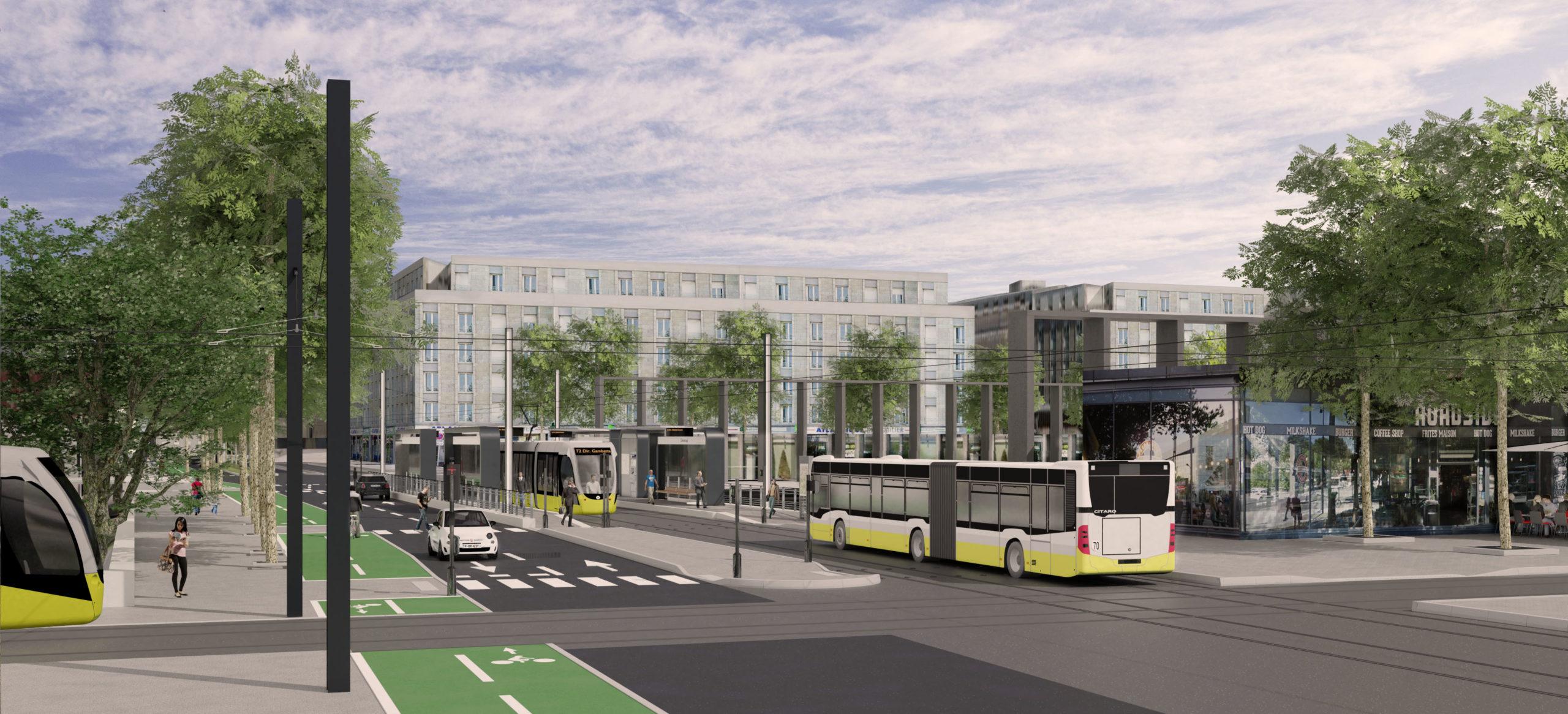 Nouvelle ligne de tramway à Brest  : le projet est lancé avec le démarrage des sondages géotechniques