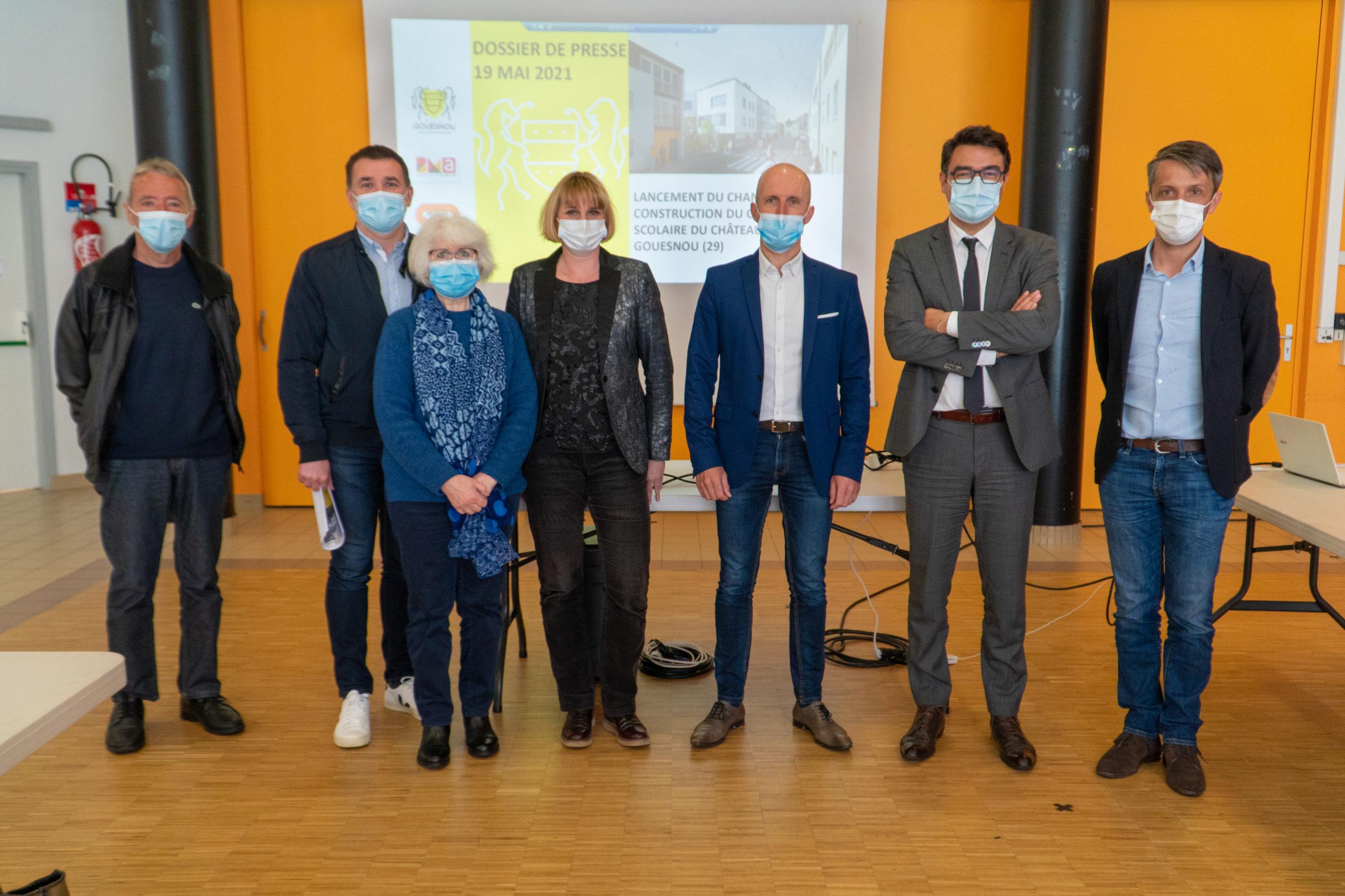 Ecole nouvelle génération à Gouesnou : lancement du chantier