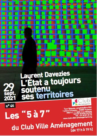 """Les """"5 à 7"""" du Club Ville Aménagement"""