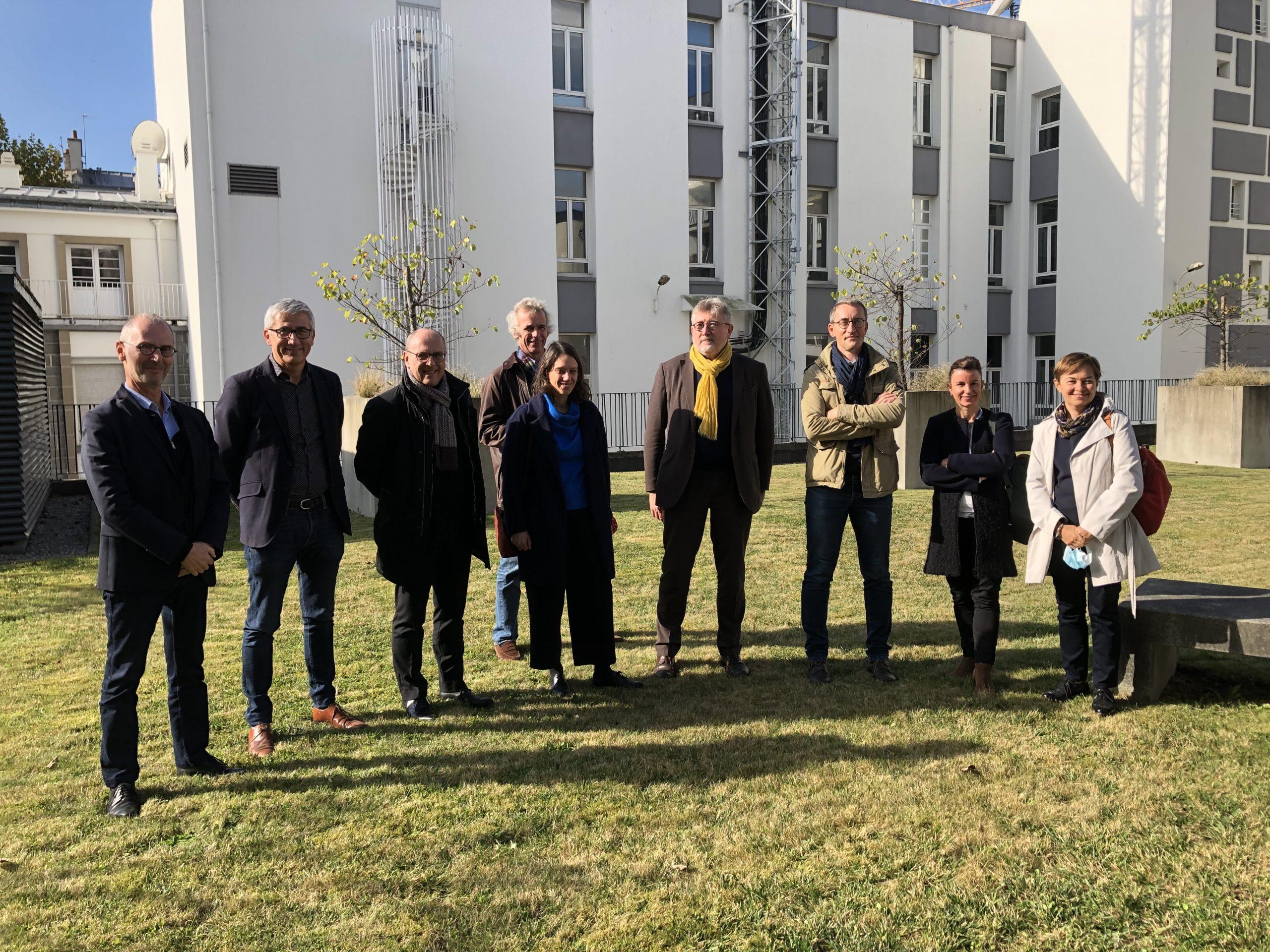 Une délégation d'Amiens reçue à BMa